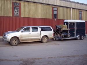 Van et voiture Laurent, transport