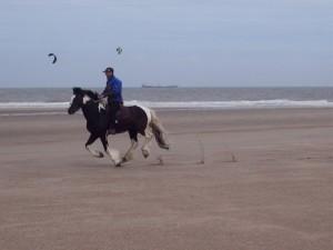 Sable , mer du Nord et vent