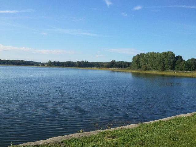 L'étang de Lindre